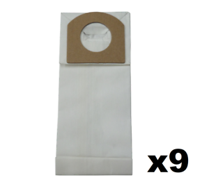 9 Vacuum Cleaner Bags for Hand Vac Bag Type G Dirt Devil 3010347001 3010348001