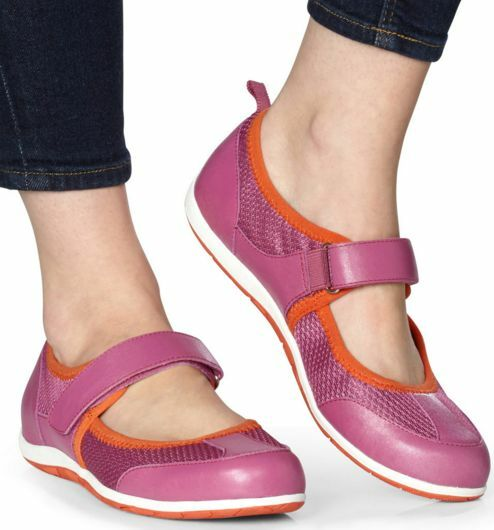 Vionic Women's Ailie Leather Mary Jane Sport shoes Size  USA 7, UK 5,  EUR 38