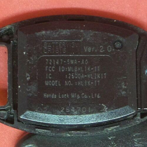 MLBHLIK-1T OEM Honda Remote Head Key 4B