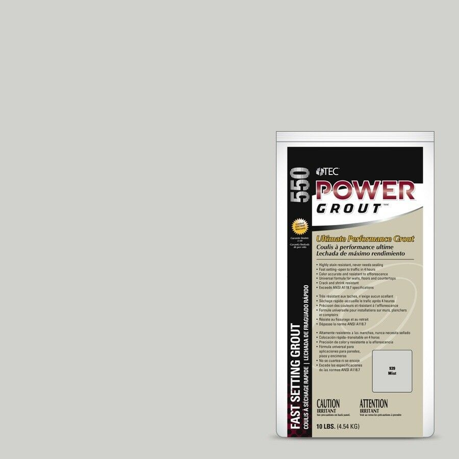 Tec 550 Power Grout 939 Mist- 25 Lbs