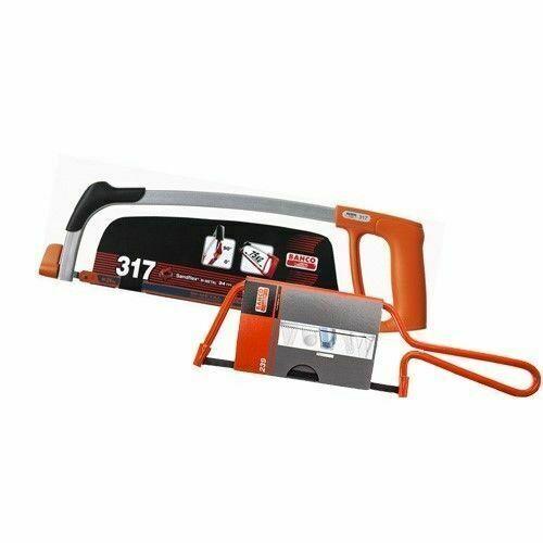 Bahco 317 BAH317 Hacksaw Frame Junior Saw 239 BAH239 Twin Pack XMS17HACKSAW