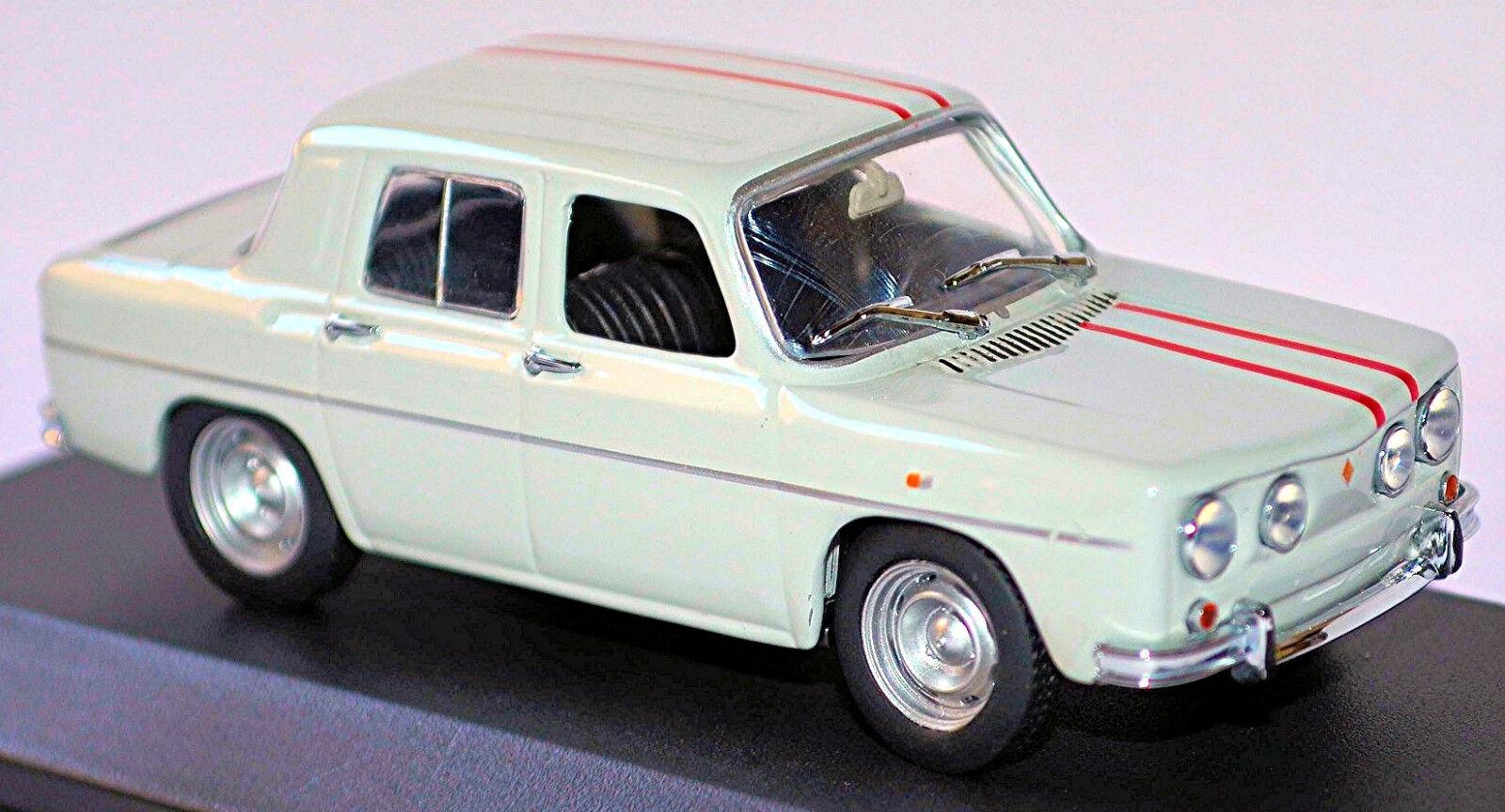 Renault R 8 Gordini 1965-70 Antiguo biancao Viejo biancao 1 43 Minichamps