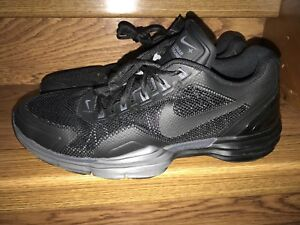 43825b806bac Nike Lunar Trainer 1 Mens Black XXV Promo Sample Shoes Size 12