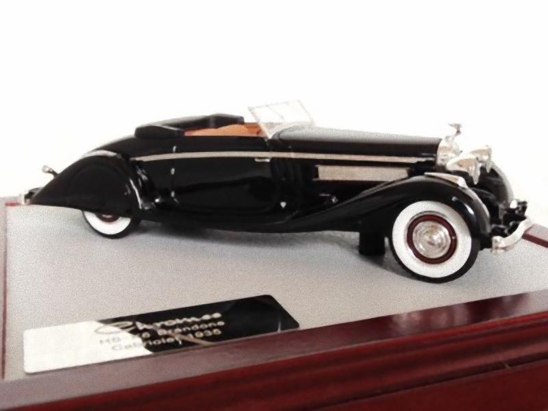 CHROMES 047 - Hispano Suiza K6 Brandone Cabriolet 1935 1/43
