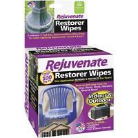 20 Indoor/outdoor Rejuvenate Restorer Multi-purpose Wipes Usa Made Fade Oxidized