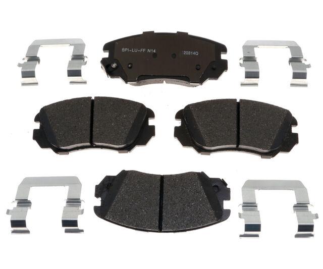Disc Brake Pad Set-Base Front Raybestos MGD1421CH