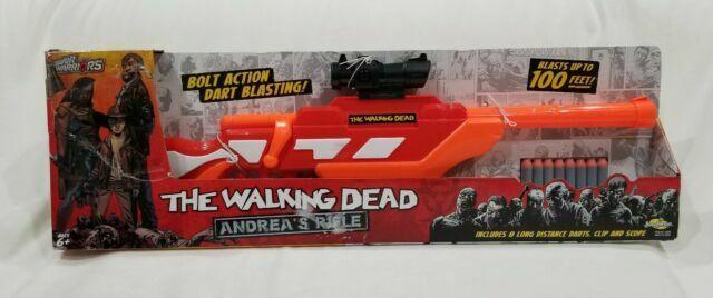 Buzz Bee Toys Air Warriors The Walking Dead Andrea S Rifle Dart Gun F4 For Sale Online Ebay