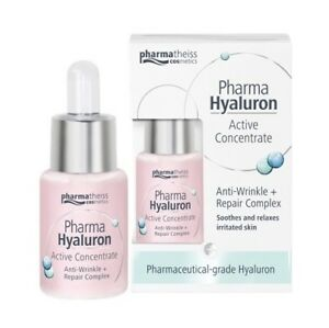 Details about PHARMA HYALURON ACTIVE CONCENTRATE ARNTI-WRINKLE + SOOTHING  ELIXIR *13ml
