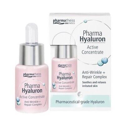 PHARMA HYALURON ACTIVE CONCENTRATE ARNTI-WRINKLE + SOOTHING ELIXIR *13ml  |  eBay
