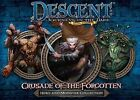Descent Board Game Crusade of The Forgotten Hero and Monster Collection