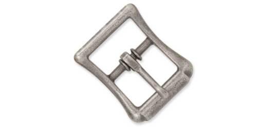 1537-02 WBL STRAP BUCKLE 1//2in Antique Nickel