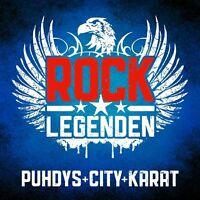 CITY,KARAT PUHDYS - ROCK LEGENDEN  CD NEU