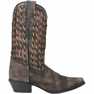 Laredo AYMEE Womens SIZE 7 52192 Brown Leather Western 11-Inch Boots