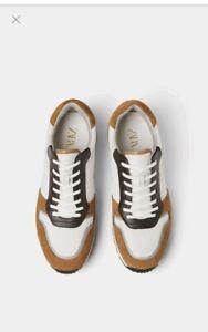 Men's ZARA Contrast Classic Shoes
