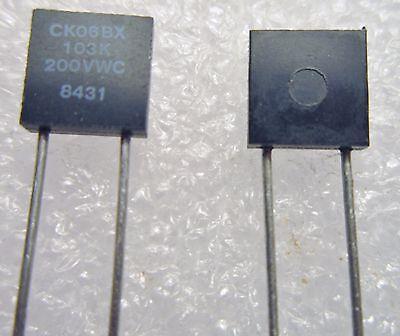 CK06BX103K .01UF 200V 10/% Capacitor New Lot Quantity-100