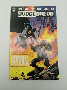 Batman Judge Dredd Vendetta In Gotham Vintage DC Comics Graphic Novel TPB