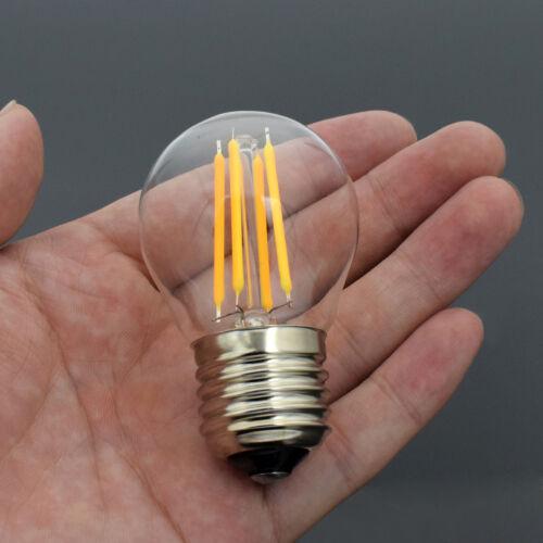 E27//E14 DIMMBARE 8//16W EDISON FILAMENT LICHT GLÜHBIRNEN LED RUND//KERZEN LAMPE