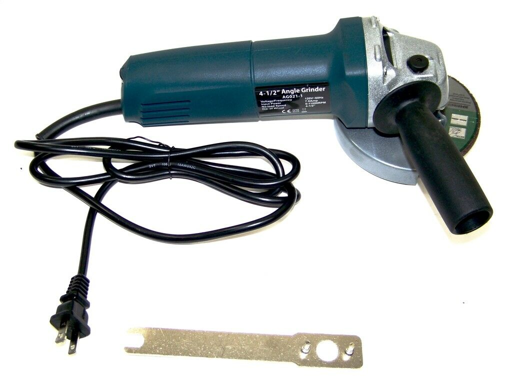 Angle Grinder Electric Variable Speed 4-1/2