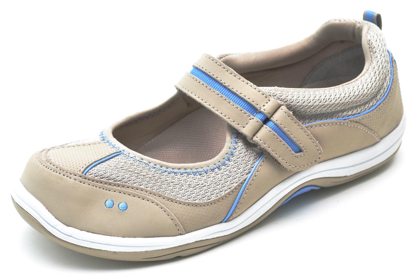 Ryka Gray JAZZE Grey Gray Ryka Mary Janes Sneakers Walking Shoes Women's 6 - NEW fe7e2e