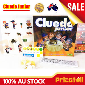 New-Cluedo-Junior-Classic-Detective-Board-Game-Family-Fun-Kids-Educational-Toy