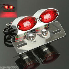 Chrome Turn Signals Brake Tail Light For Honda VT Shadow Ace Spirit Aero Deluxe
