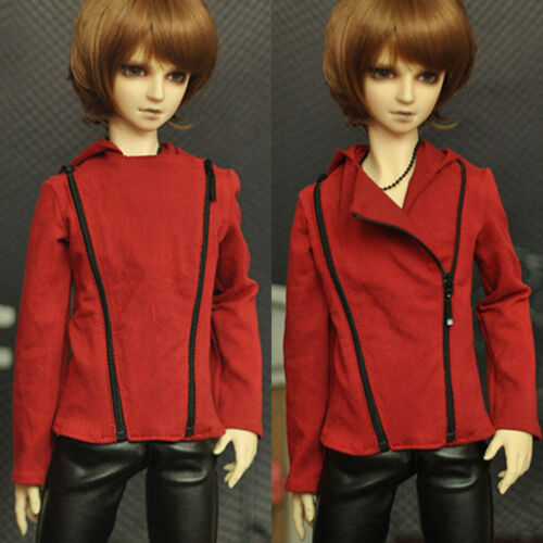 Red Coat Jacket For SD17 1//3 1//4 Boy Male BJD Doll Dollfie Outfit Lifelike PF