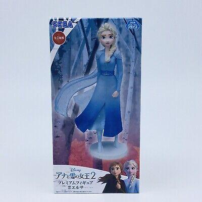 Disney FROZEN 2 Premium Figure Princess Elsa Anna Olaf Set Japan Sega 2019