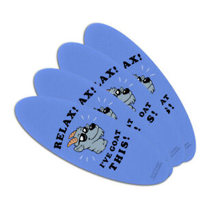 Relax-I-039-ve-Goat-This-Got-Funny-Humor-Oval-Nail-File-Emery-Board-4-Pack