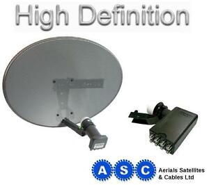 Sky-Dish-and-Octo-LNB-to-feed-4-Sky-Plus-HD-boxes