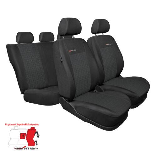 Toyota Corolla Verso II de 07 5 plazas cubiertas de asiento fundas de asiento de coche