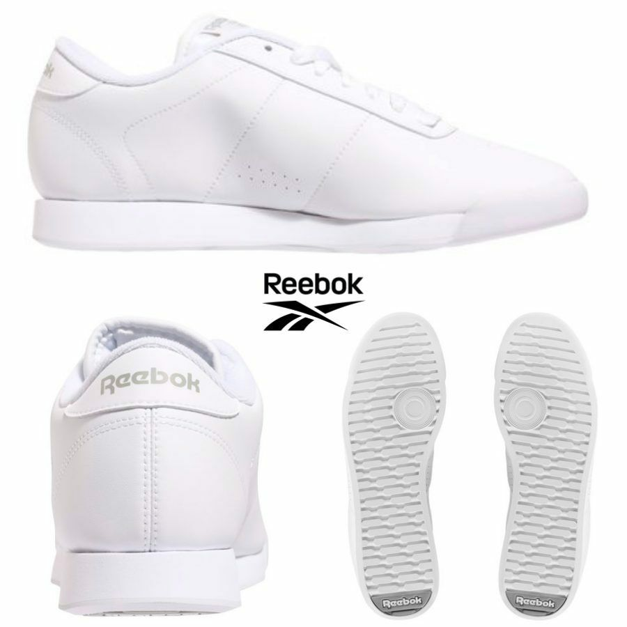 Scarpe casual da uomo  Reebok Classic Princess Shoes Sneakers White J95362 SZ 4-12.5