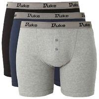 DUKE 3 STÜCK Boxershorts XL bis 8XL Übergröße Unterwäsche Unterhose