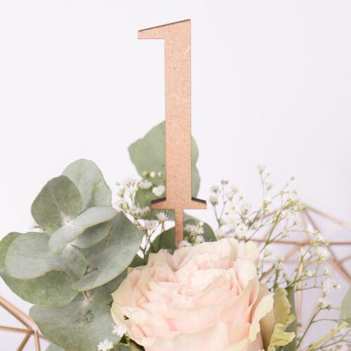 """Zahlen/"""" Deko Nummern Hochzeit Tische Gäste KLEINLAUT /""""Tischnummern aus Holz"""