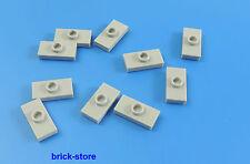 hellgrau # 4477 Platte // Plate 1 x 10 LEGO 4 Stück