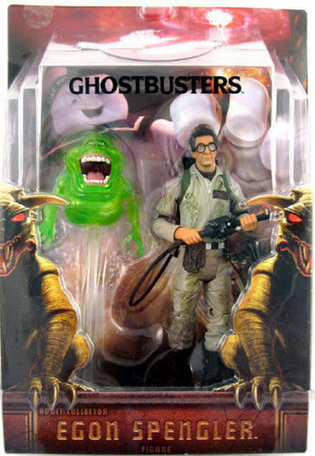 Ghostbusters_egon - figur mit slimer_con 2009 exklusive limited edition