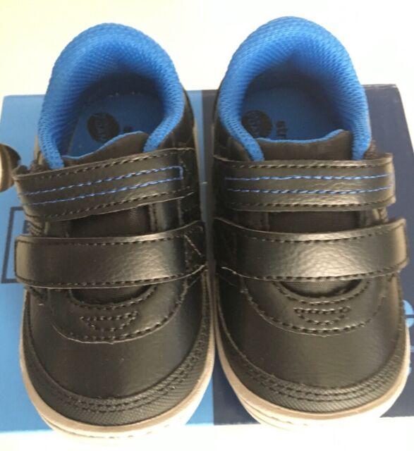 6b069470ea123 Stride Rite Kyle Black Toddler Boys Shoes US Size 5m