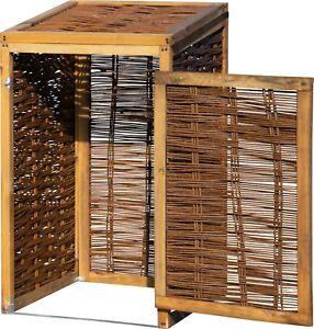 Mulltonnen Box Mulltonnen Versteck Aufklappbare Verkleidung Holz