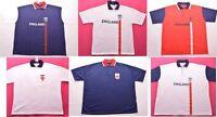 ENGLAND FC Football Club Mens Polo Shirt Tshirt Top Size XL XXL 3XL 4XL 5XL (A80