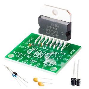 DC 12V TDA7297 Amplifier Board 15W+15W Dual-Channel Track Stereo Module Kit DIY