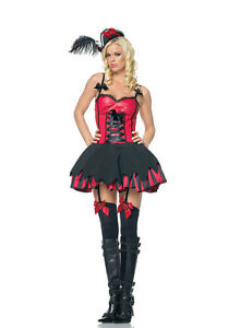Image is loading Leg-Avenue-Sexy-Treasure-Pirate-Saloon-Girl-Womens-  sc 1 st  eBay : saloon womens halloween costume  - Germanpascual.Com