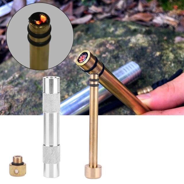 CNC Waterproof Flint Fire Starter Lighter Kit Outdoor Camping Hiking EDC Tool