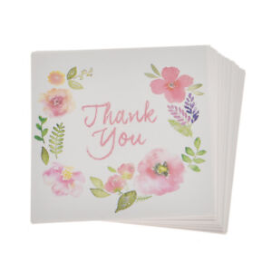 50-Pcs-THANK-YOU-Flowers-Paper-Card-Rewards-Gift-Bouquet-for-Wedding-Party-Decor