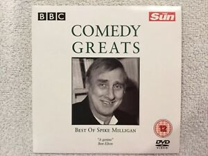 The-Sun-Promo-DVD-BBC-Comedy-Greats-Best-of-Spike-Milligan
