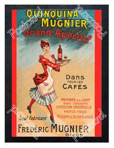 Historic-Quinquina-Mugnier-Grand-Aperitif-circa-1900-Advertising-Postcard