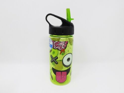 Cool Gear International 16 oz Plastic Water Bottle w// Flip Up Spout New