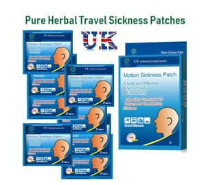 MOTION-TRAVEL-SICKNESS-MINI-PATCHES-ANTI-NAUSEA-VOMITING-PAIN-RELIEF-CAR-SEA-AIR