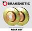 REAR SET BRAKENETIC SPORT SLOTTED Brake Disc Rotors BNS42047.SS