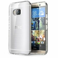 Coque Etui Housse silicone gel Case Htc One M9 Transparent Ultra Fin Thin + Film