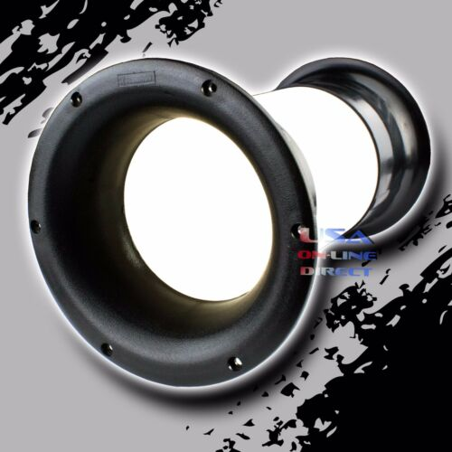 """High Quality Molded 4/"""" x 10/"""" Aero-port for 10/""""-18/"""" Sub-woofer Bass Enclosure US"""