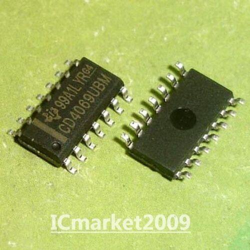 50 PCS CD4069UBM SOP-14 CD4069 SMD CMOS HEX IVVERTER